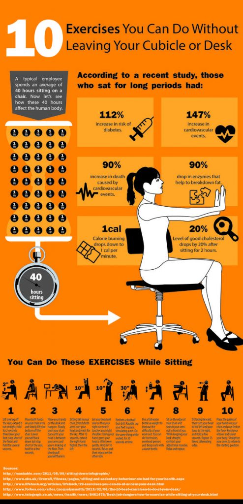 Keeping Active At Work Stretches To Do At Your Desk 2019