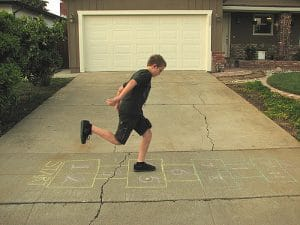 Top Agility Drills To Improve Your Mobility. Hopscotch