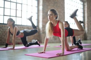 weight training and yoga